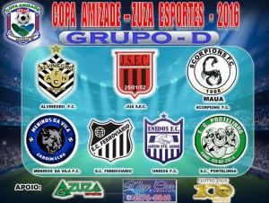 Tabela Copa Amizade 2016