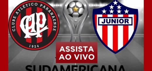 Atlético Paranaense e Junior Barranquilha ao Vivo Copa Sul Americana