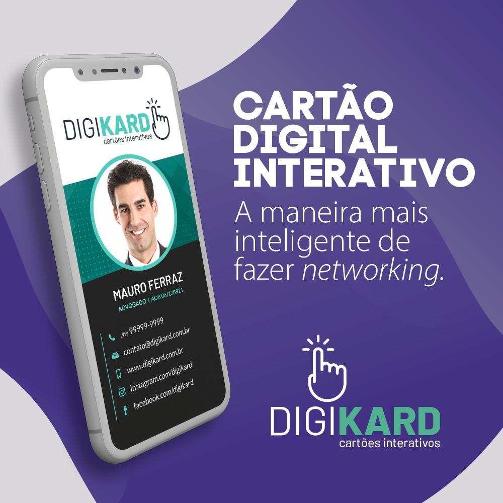 Cartão digital Digikard